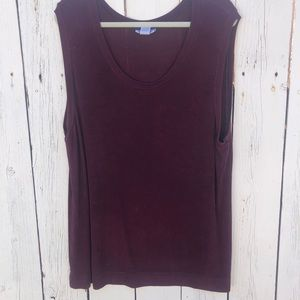 Avenue stretch 22/24 purple plum top